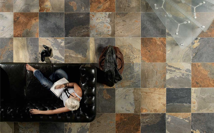ceramic tile floors versus natural stone floors
