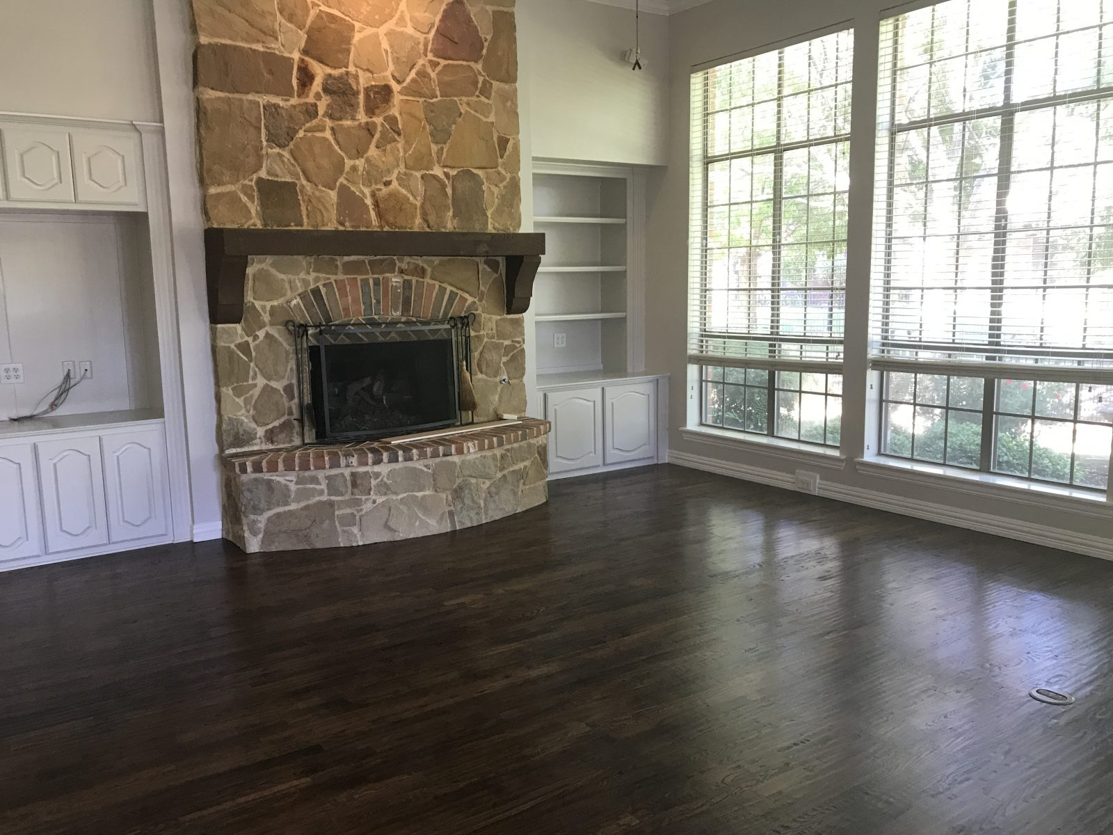 Solid Hardwood Installation in Frisco, TX