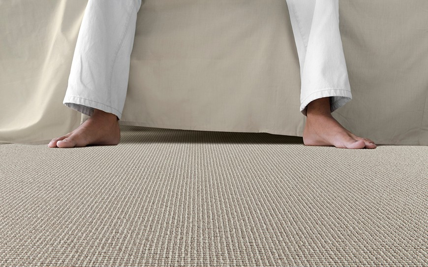 why install carpet floor in the bedroom