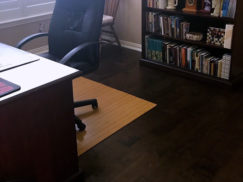 Dark Engineered Hardwood Floors Installed In Frisco Tx