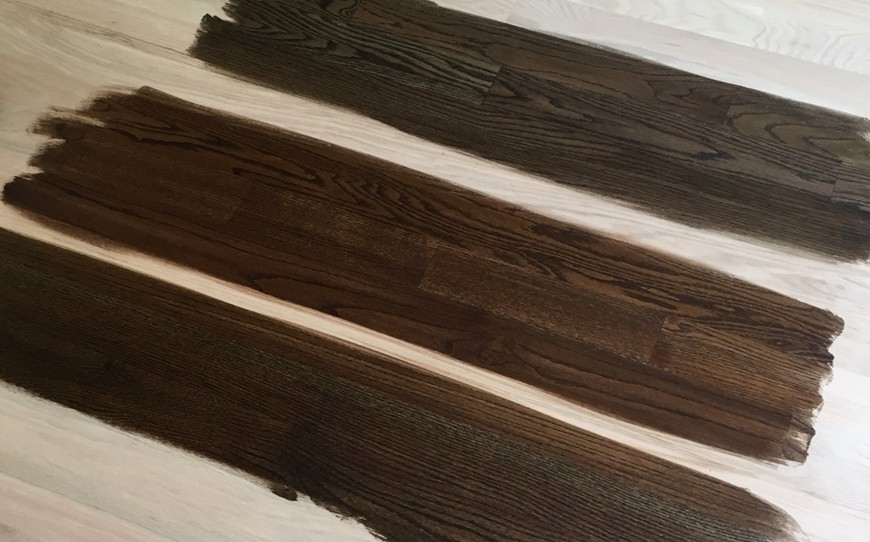 How to choose the right stain for your hardwood floor gc for How to pick wood floor color
