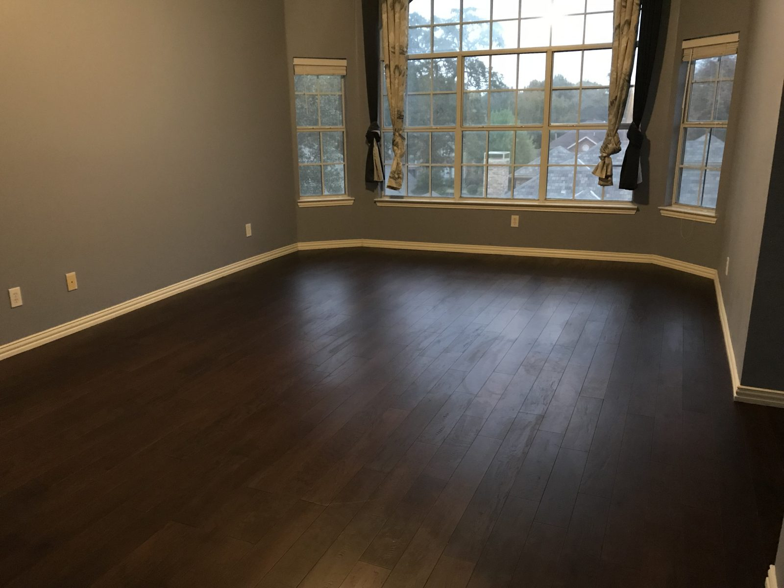 New Engineered Wood Floors in Coppell Texas