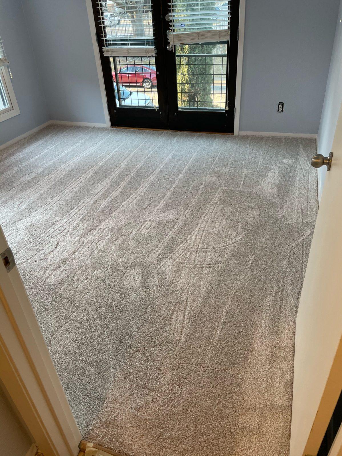 55oz Dreamweaver carpet in porcelain color – Frisco, Texas
