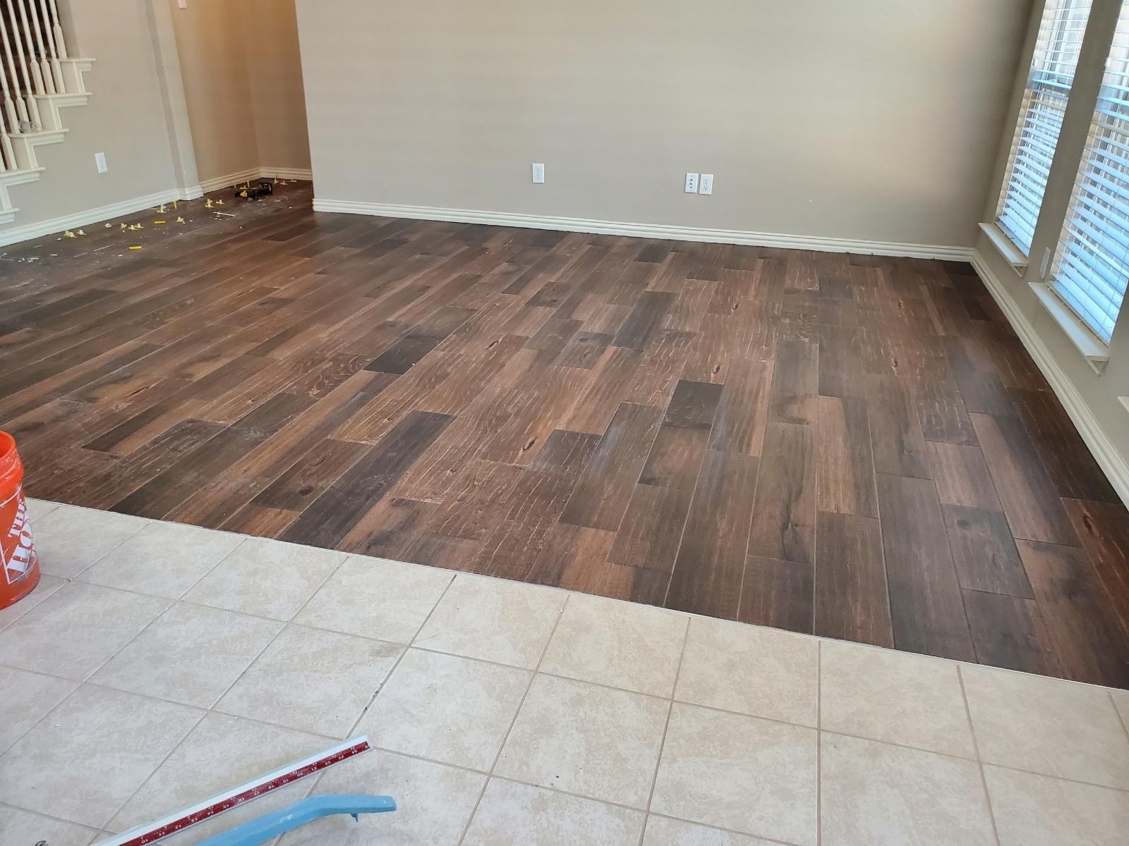 Wood Tile || Corinth, Texas